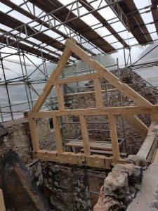timber framing for restoration
