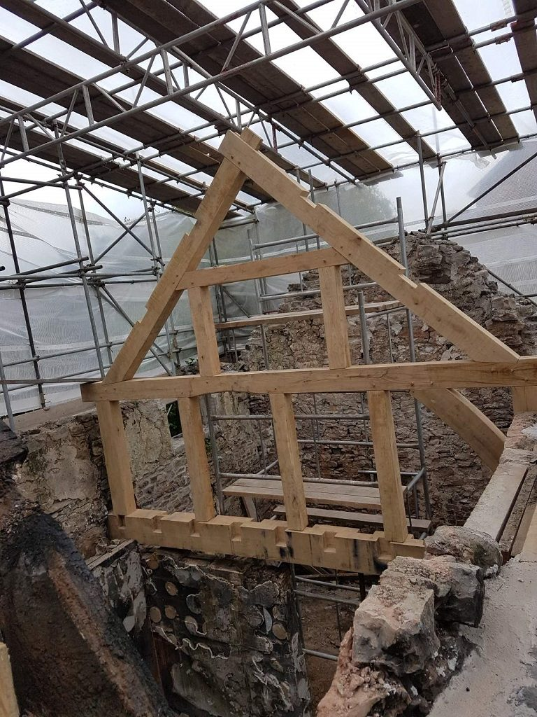 timber framing for restoration